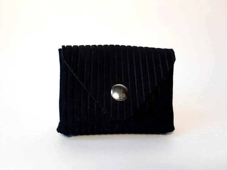 porte monnaie noir velours