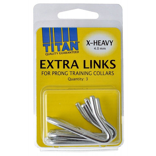 Titan Extra Links for Prong Training Collars