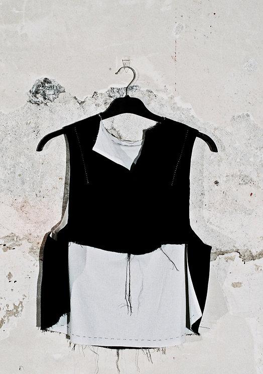 dark avant-garde fashion
