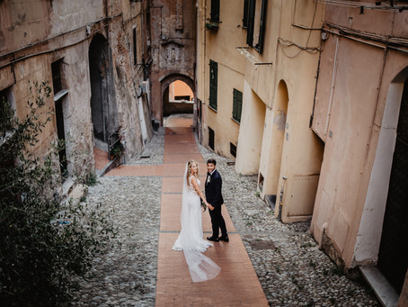 Destination wedding in Liguria