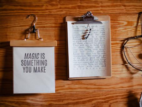 自分に魔法をかける
