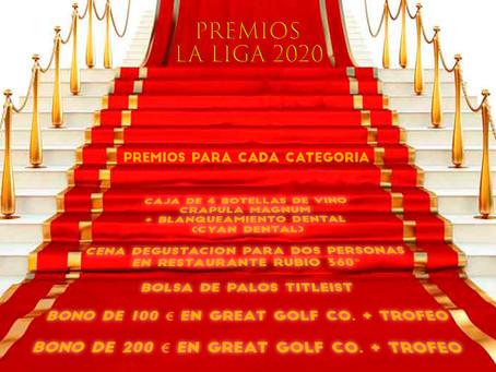 Premios Liga 2020 GF Golf