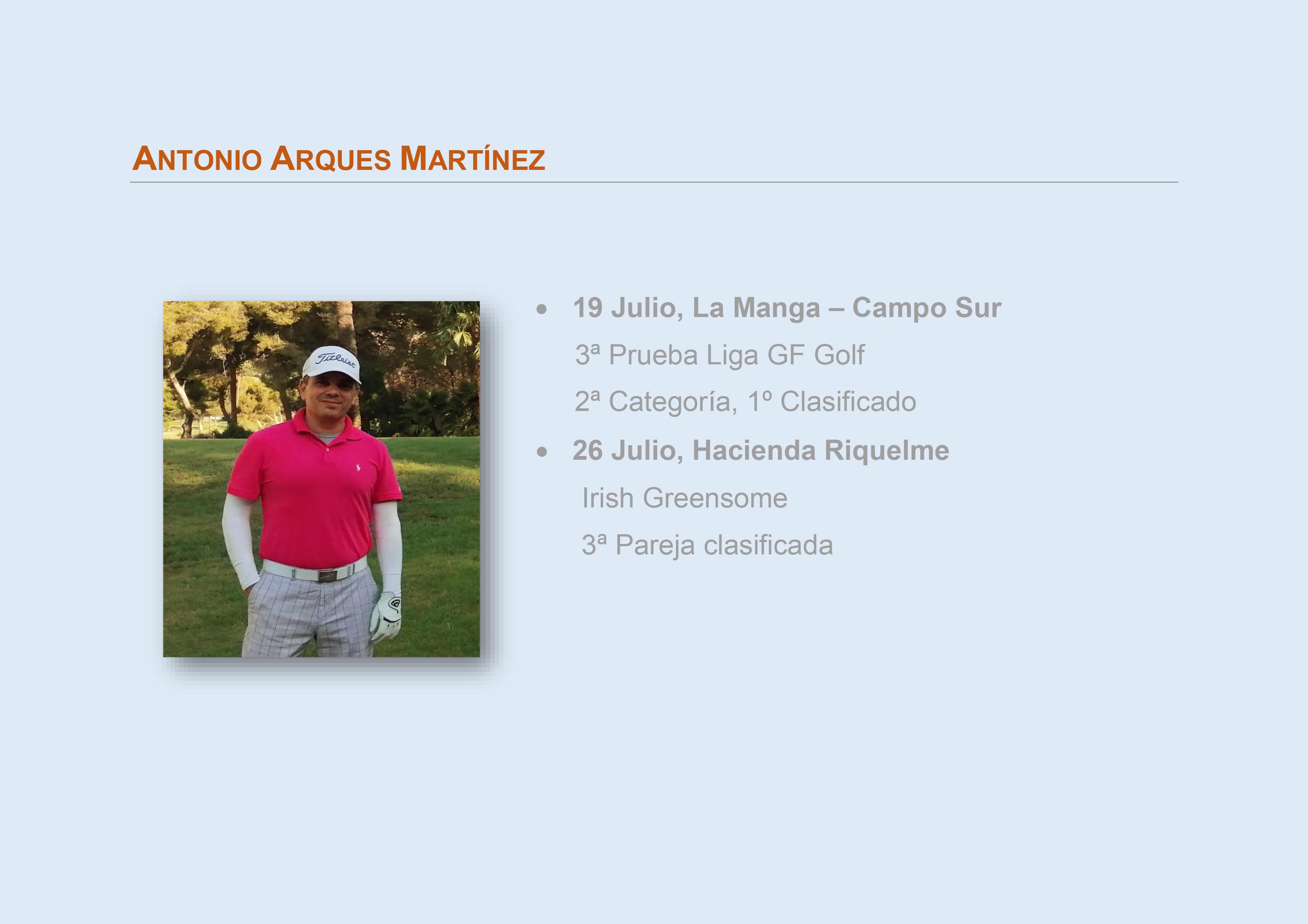 Arques Martinez, Antonio