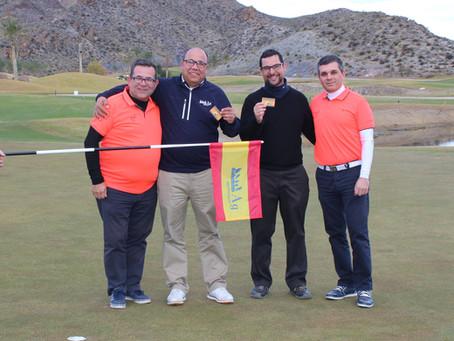 Homenaje en Aguilón Golf