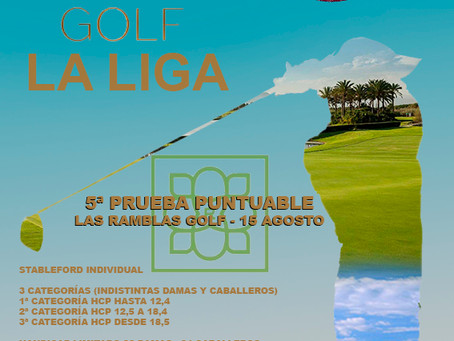 5.ª Prueba de La Liga 2020 GF Golf