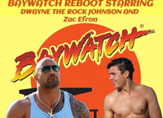 BAYWATCH STARRING THE ROCK