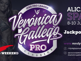 2018 Veronica Gallego Pro Results