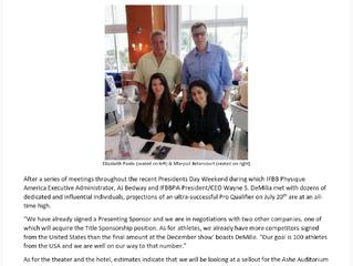 2019 IFBB Miami Grand Prix rapidly moves forward