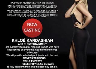 Khloé Kardashian Fitness Show Casting