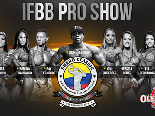 IFBB Sheru Classic Latin America/Colombia Pro 2018 Results