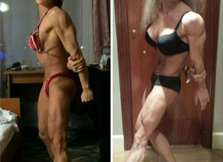 Aleksandra Rudenko Criticized by UK's The Sun for looking older due to Bodybuilding