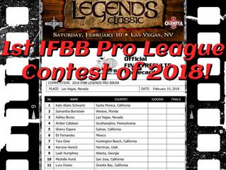 IFBB Pro League Legends Classic Bikini Pro 2018