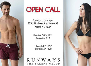 Beverly Sage's Runways The Talent Group Casting Call