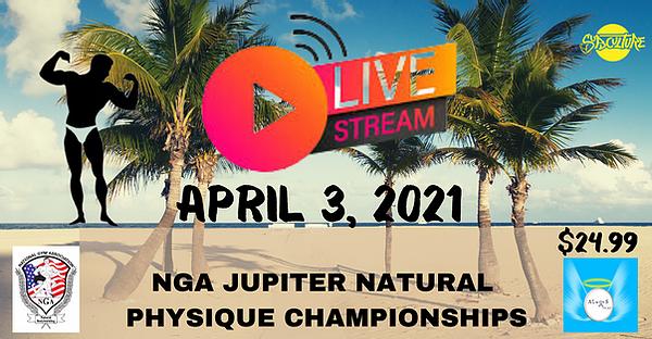 NGA Jupiter natural physique championship 2021