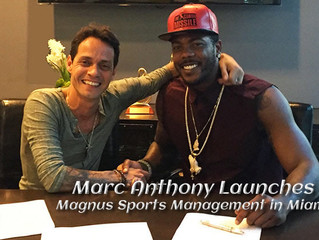 Marc Anthony​ Launches MAGNUS Sports Management in Miami