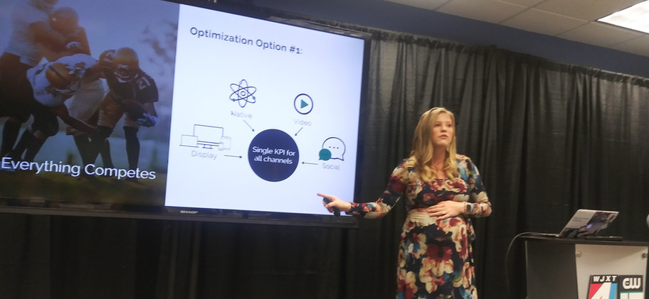 2020 Digital Marketing Summit WJXT in Jacksonville with Google and Adtaxi