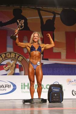 Women's Physique Overall Winner Christelle Zarovska #14