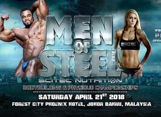 Ye Tun Naung Bodybuilding Champion Malaysia Men of Steel 2018