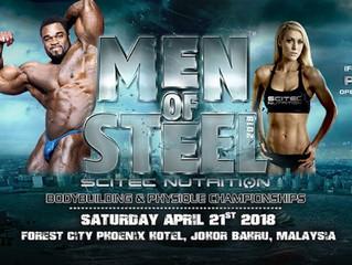 IFBB Pro League Men of Steel Malaysia Pro Qualifier Scores