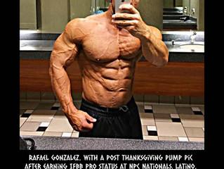 Fitness Industry People to Watch: Raphael Gonzalez; IFBB Pro