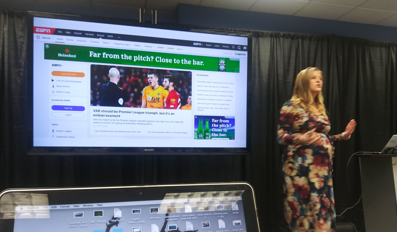 Kenzie 2020 Digital Marketing Summit WJXT in Jacksonville with Google and Adtaxi