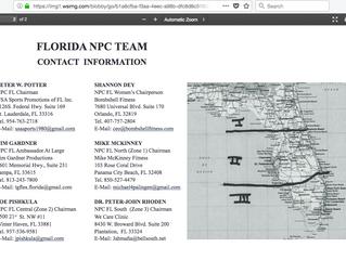 NPC President Reverses Changes Made In Florida NPC Organization