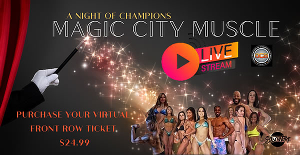 OCB Magic City Muscle Bodybuilding Night of Champions 2021