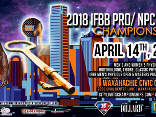 2018 IFBB City Limits Pro Contest Results