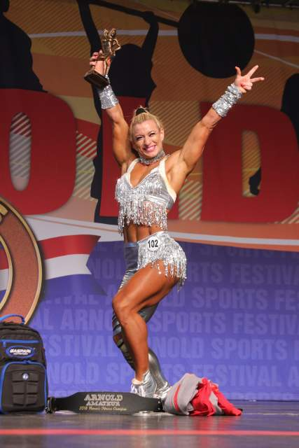 Fitness Overall Winner Milica Narancic #102