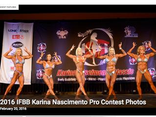2016 IFBB Karina Nascimento Pro