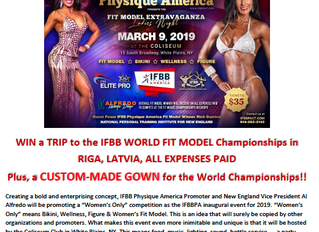 IFBB Physique America announces first show of 2019!