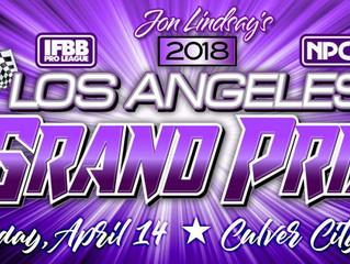 2018 IFBB Grand Prix Contest Results