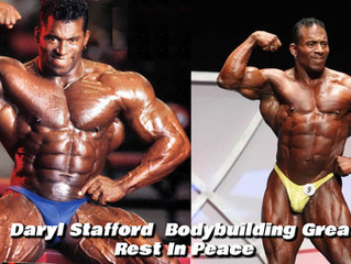 Daryl Stafford Bodybuilding Great Rest In Peace