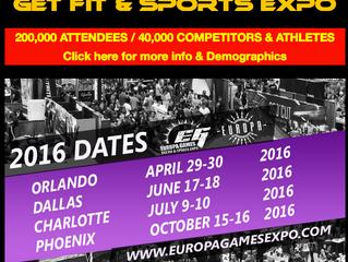 Charlotte Europa Games 2016 announced