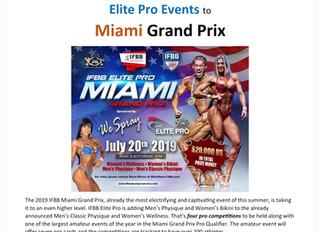 Men's Physique & Bikini Elite Pro Added