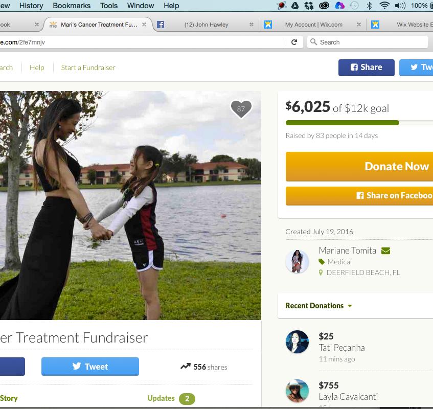 Help Save Mari's Life