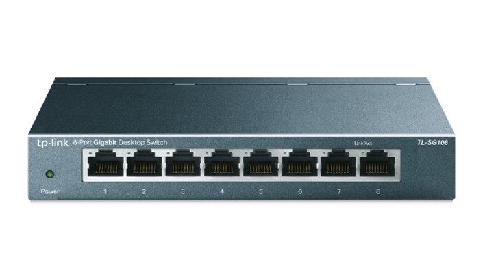 8-Port Gigabit Desktop Switch TL-SG108