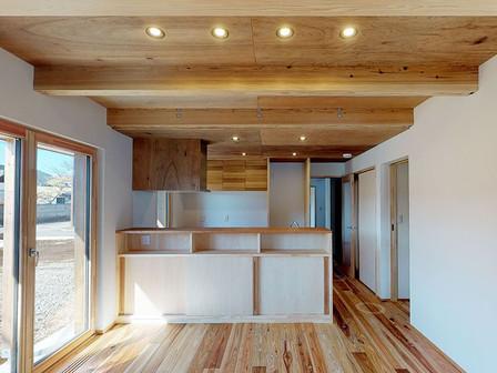 住宅:富士山を望むあたたかい家~完成後~