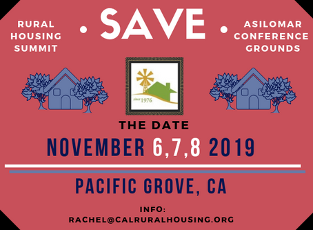 Save the Date - RHS 2019