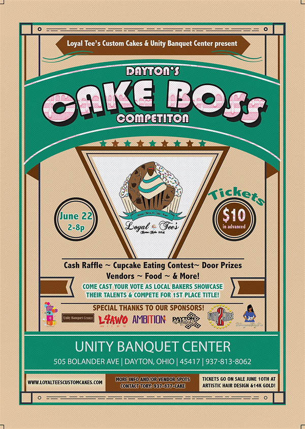 Official Cake Boss Flyer Tickets on sale