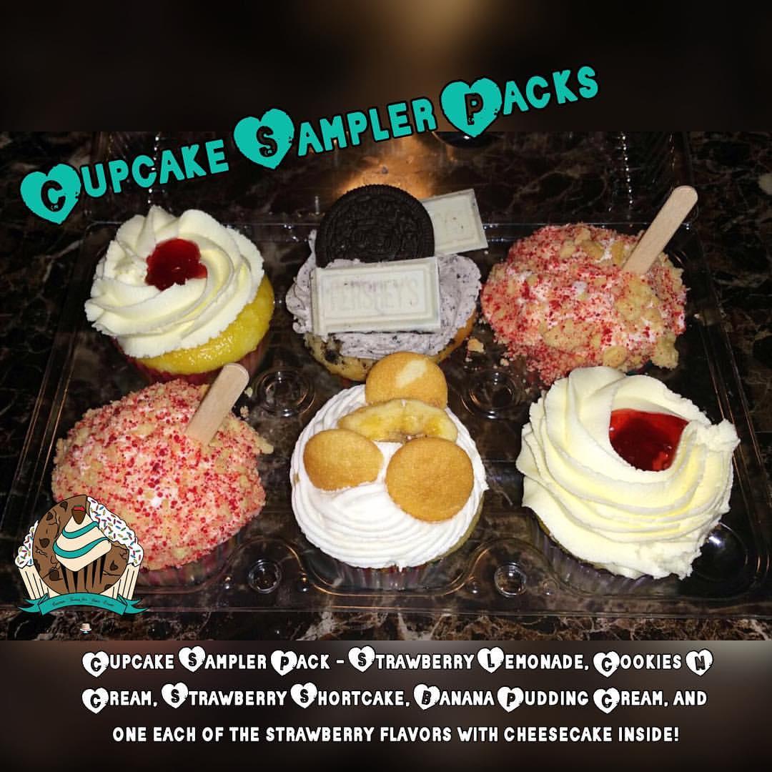 Cupcake Sampler Pack