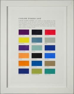 Color Forecast No. 5: Spirituality