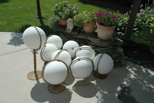 globes in process