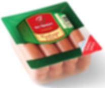 сосиски упакованные на термоформере