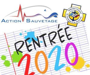 Rentrée 2020: infos sur les prochaines réunions !!