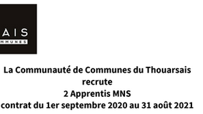 Offre Apprenti MNS Thouars