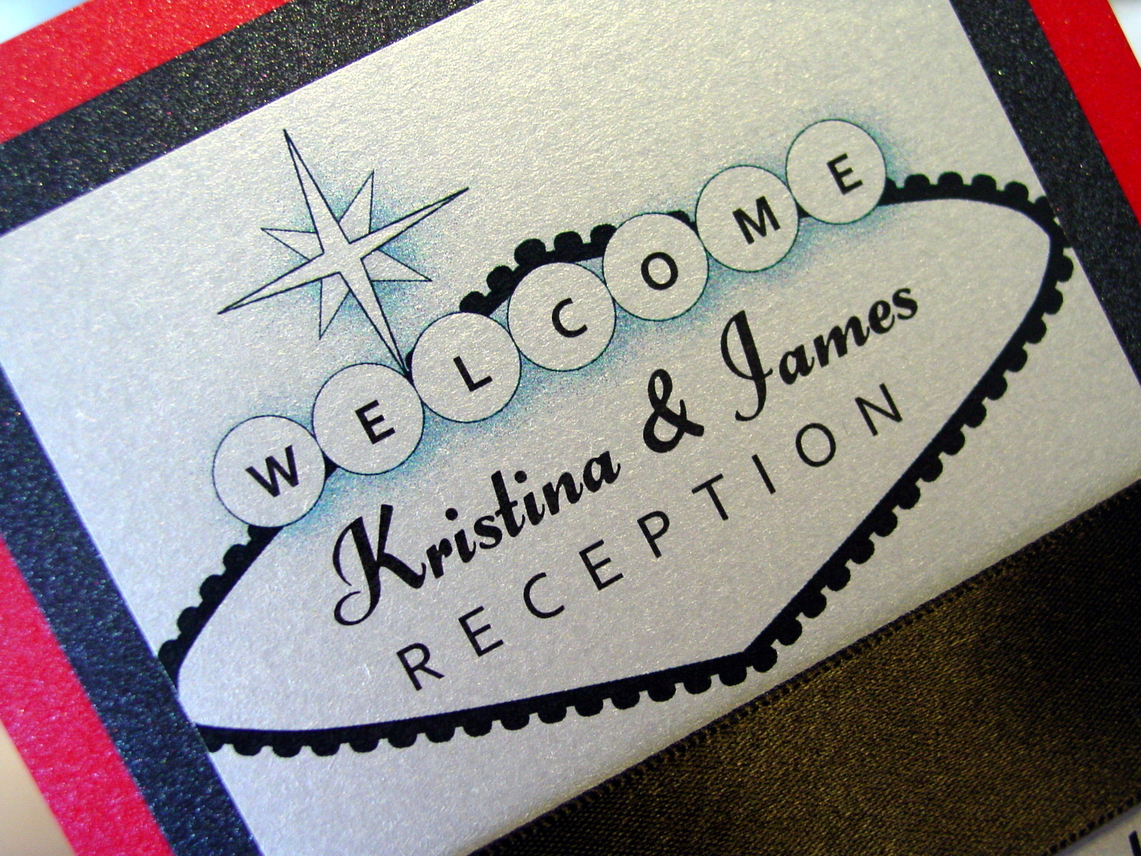 Kristina and James - Invitations