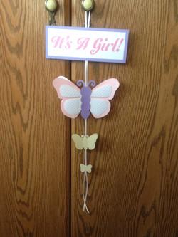 Butterfly Shower