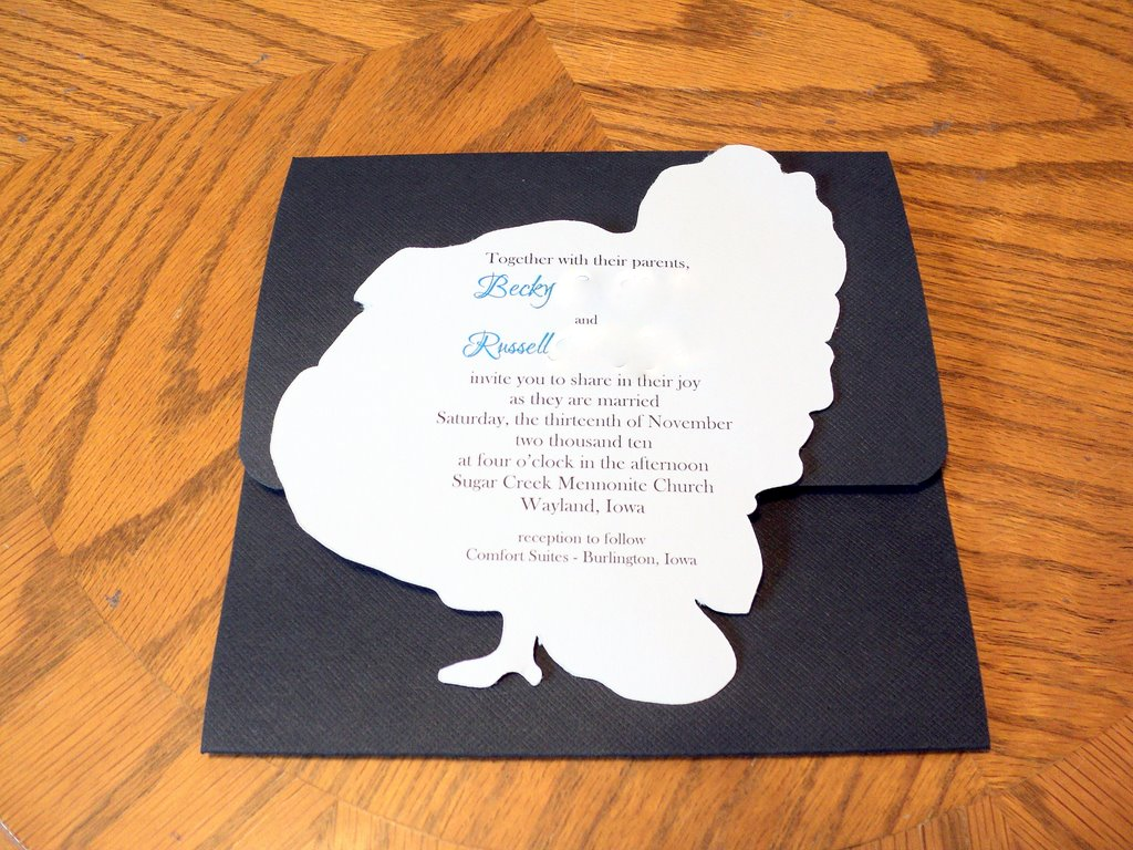 Becky and Russ - Invitations