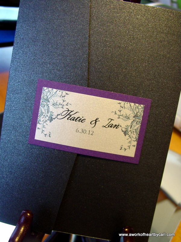 Katie and Ian - Invitations